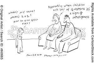 kids asking mom