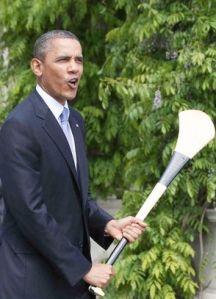 Obama hurl