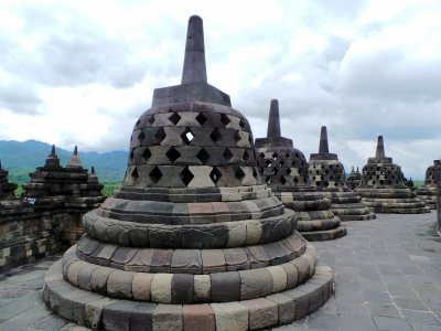 Gloomy Borobudur