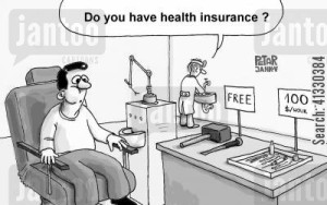 Do you have health insurance?