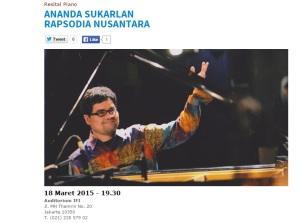 Konser Ananda Sukarlan