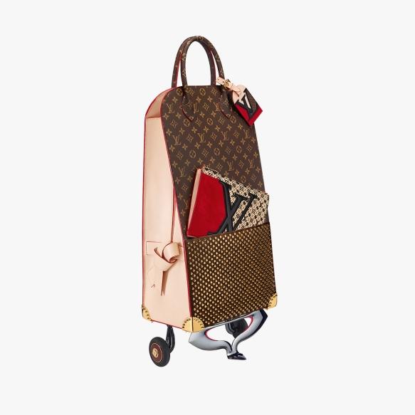 LV shopping trolley