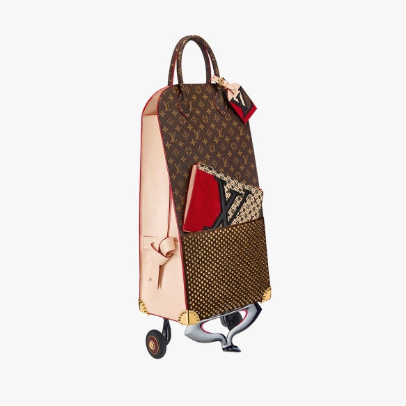 LV shopping trolley